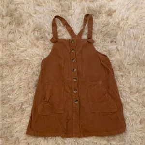 Dresses & Skirts - Overall corduroy dress with pockets